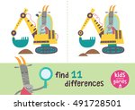 find the differences. kids... | Shutterstock .eps vector #491728501