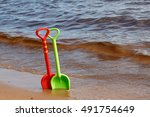 Colorful Baby Toys Shovels In...