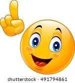cartoon smiley emoticon making... | Shutterstock .eps vector #491794861
