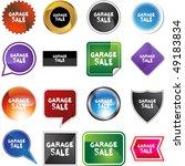 garage sale | Shutterstock . vector #49183834