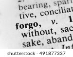 Small photo of Forgo