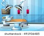cartoon vector illustration... | Shutterstock .eps vector #491936485