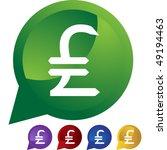pounds money sign | Shutterstock .eps vector #49194463