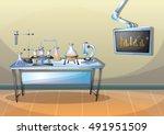 cartoon vector illustration... | Shutterstock .eps vector #491951509
