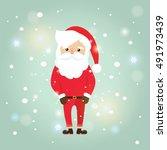 christmas santa claus | Shutterstock .eps vector #491973439