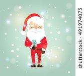 santa claus | Shutterstock .eps vector #491974075