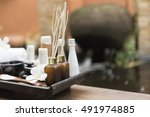 soft focus and select focus of... | Shutterstock . vector #491974885