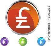 pounds money sign | Shutterstock .eps vector #49201339