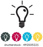 icon   creative idea | Shutterstock .eps vector #492035221