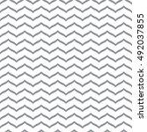 perfect seamless zig zag... | Shutterstock .eps vector #492037855