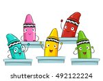 Colorful Mascot Illustration...