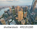 shanghai  china   october 26 ... | Shutterstock . vector #492151285