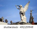 Angel In La Recoleta Cemetery ...