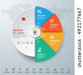 template info graphic design....   Shutterstock .eps vector #492177667