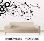wall decoration   Shutterstock .eps vector #49217908