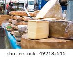 food market in provence  france | Shutterstock . vector #492185515