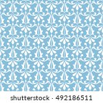 wallpaper in the style of... | Shutterstock .eps vector #492186511