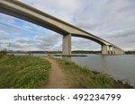orwell bridge with path