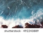 Sea Landscape Background  Wate...