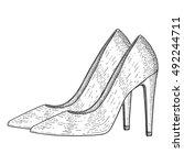 Women Shoes. High Heels. Hand...