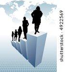 business team   Shutterstock .eps vector #4922569