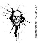 skull | Shutterstock .eps vector #49234957