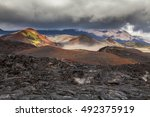 Dramatic Views Of The Volcanic...