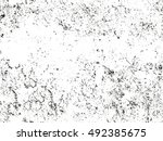 distressed overlay texture of... | Shutterstock .eps vector #492385675
