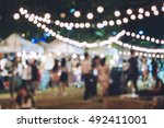 festival event party with... | Shutterstock . vector #492411001