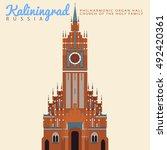 Kaliningrad Russia. Church Of...