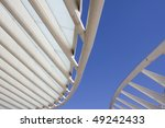 rooftop detail of downtown city ... | Shutterstock . vector #49242433