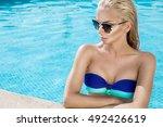 beautiful phenomenal stunning... | Shutterstock . vector #492426619