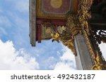 bangkok  thailand   august 29 ... | Shutterstock . vector #492432187