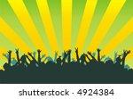 the figure representing black... | Shutterstock .eps vector #4924384