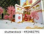 shenzhen  china   february 05 ... | Shutterstock . vector #492482791