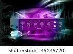 digital illustration of usb... | Shutterstock . vector #49249720