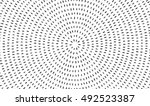 radial black concentric... | Shutterstock .eps vector #492523387