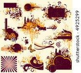 design elements | Shutterstock .eps vector #4925299
