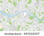 vector city map of newcastle... | Shutterstock .eps vector #492533557