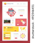 flat e newsletter design ...