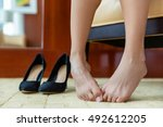 High Heels Shoe Feet Pain....