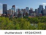 canada calgary 6 july 2014 ... | Shutterstock . vector #492642445