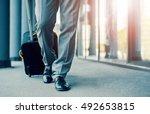 close up of businessman... | Shutterstock . vector #492653815