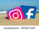 alicante  spain   september 15  ...   Shutterstock . vector #492657109