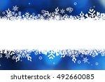 christmas background | Shutterstock . vector #492660085