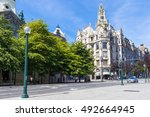 porto  portugal   12 september... | Shutterstock . vector #492664945
