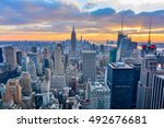 new york  united states  ... | Shutterstock . vector #492676681
