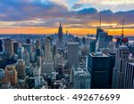 new york  united states  ... | Shutterstock . vector #492676699