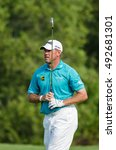 Small photo of CHONBURI - DECEMBER 13 : Lee Westwood of England player in Thailand Golf Championship 2015 at Amata Spring Country Club on December 13, 2015 in Chonburi, Thailand.