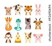 Twelve Animals Chinese Zodiac...